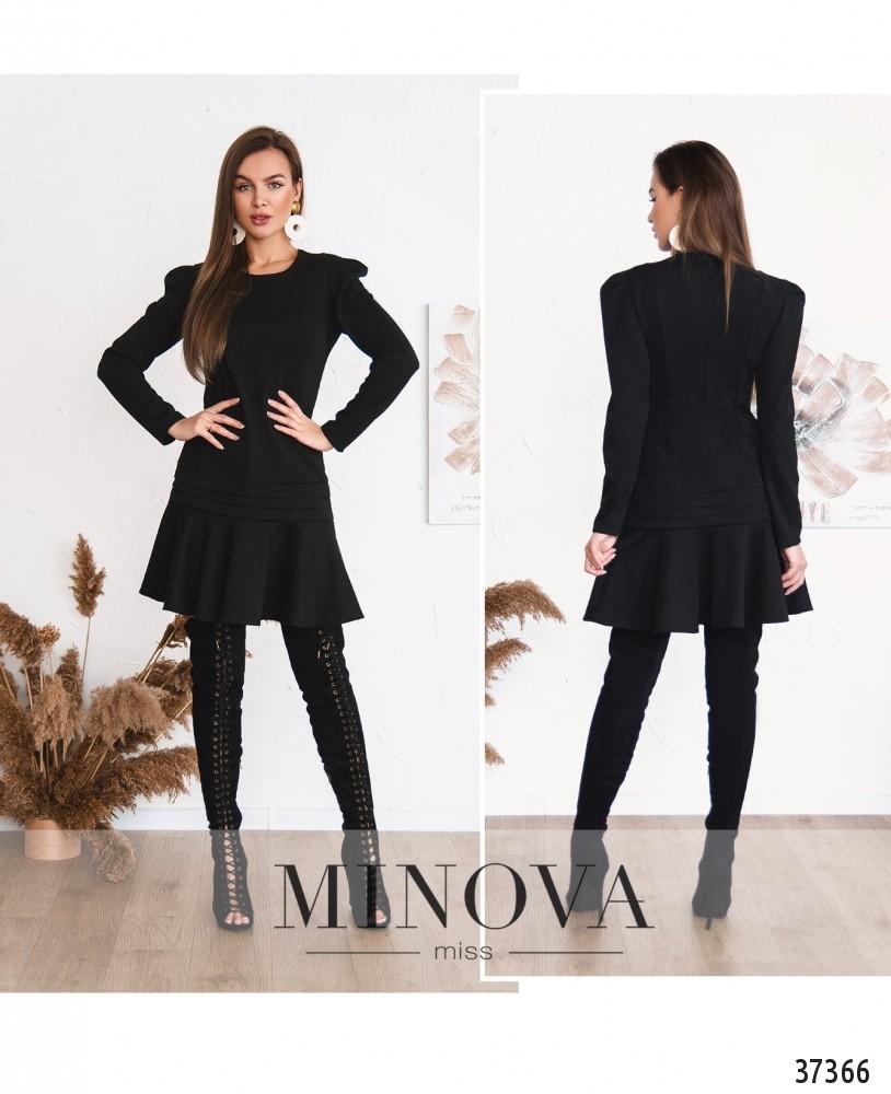 Платье №161Н-черный (н)
