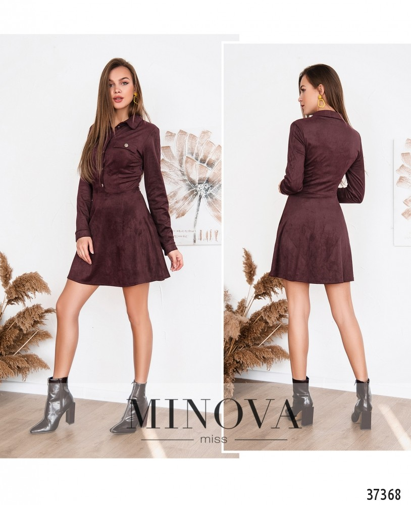 Платье №156Н-фиолетовый (н)