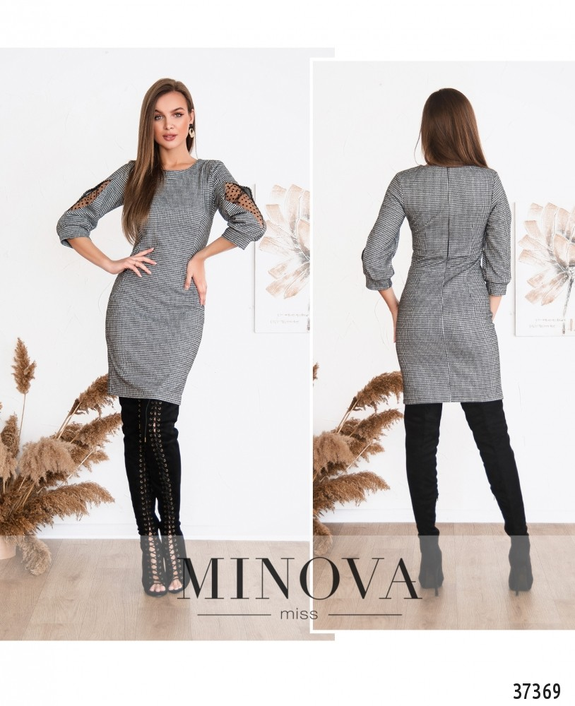Платье №153-серый (н)