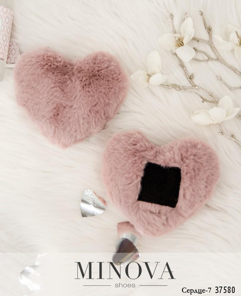 Сердце №7-розовый