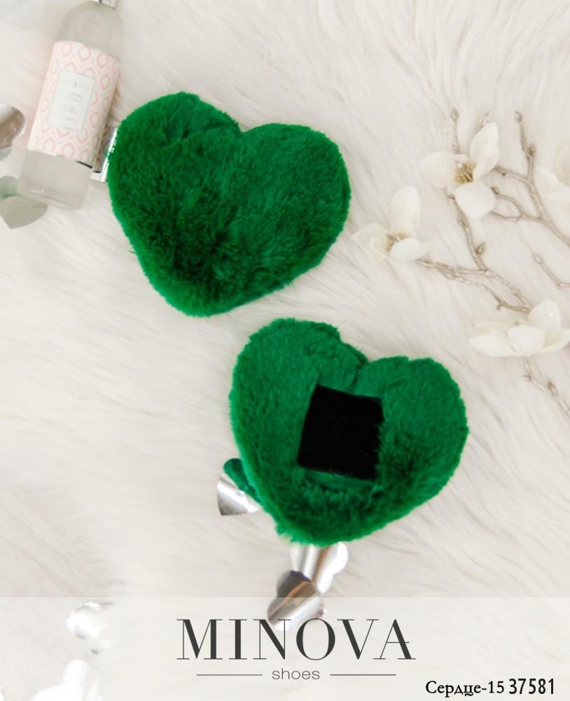 Сердце №15-зеленый