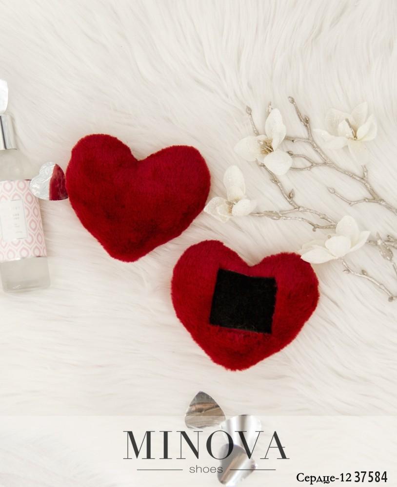 Сердце №12-красный
