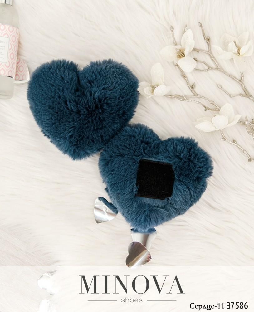 Сердце №11-синий
