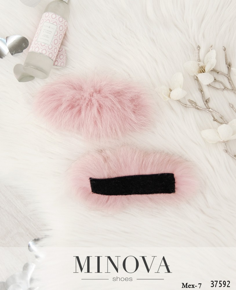 Мех №7-розовый