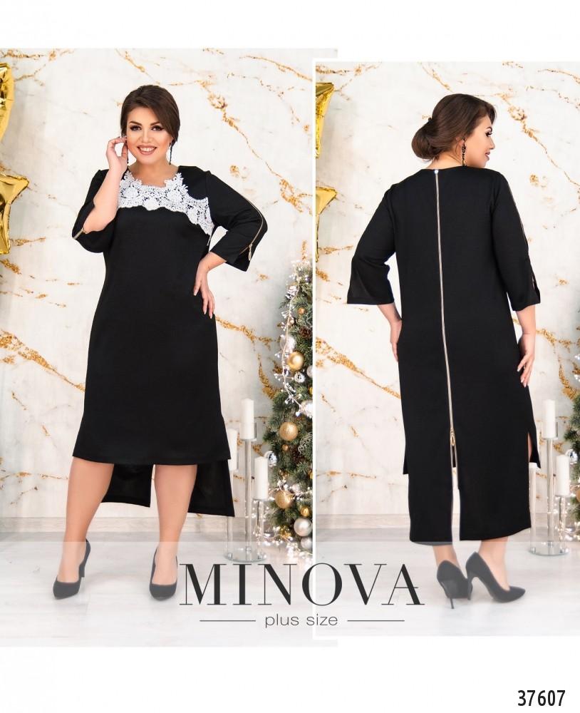 Платье №156Б-черный
