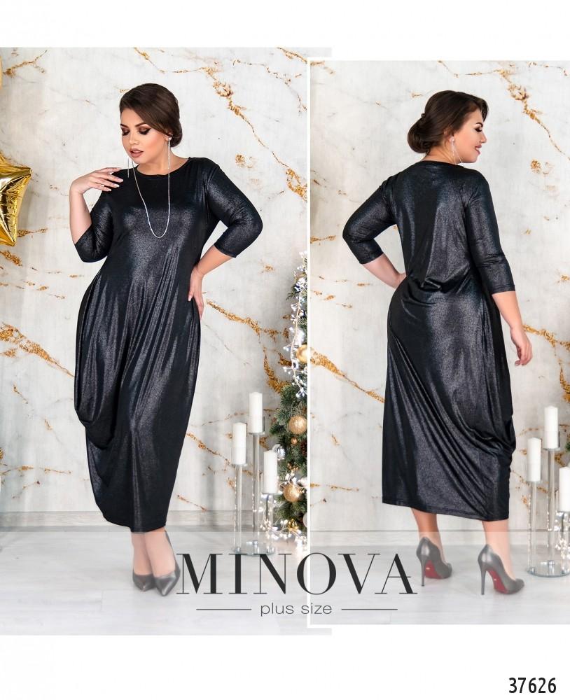 Платье №18-39Б-черный-М