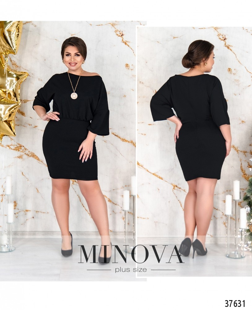 Платье №238Б-черный-М