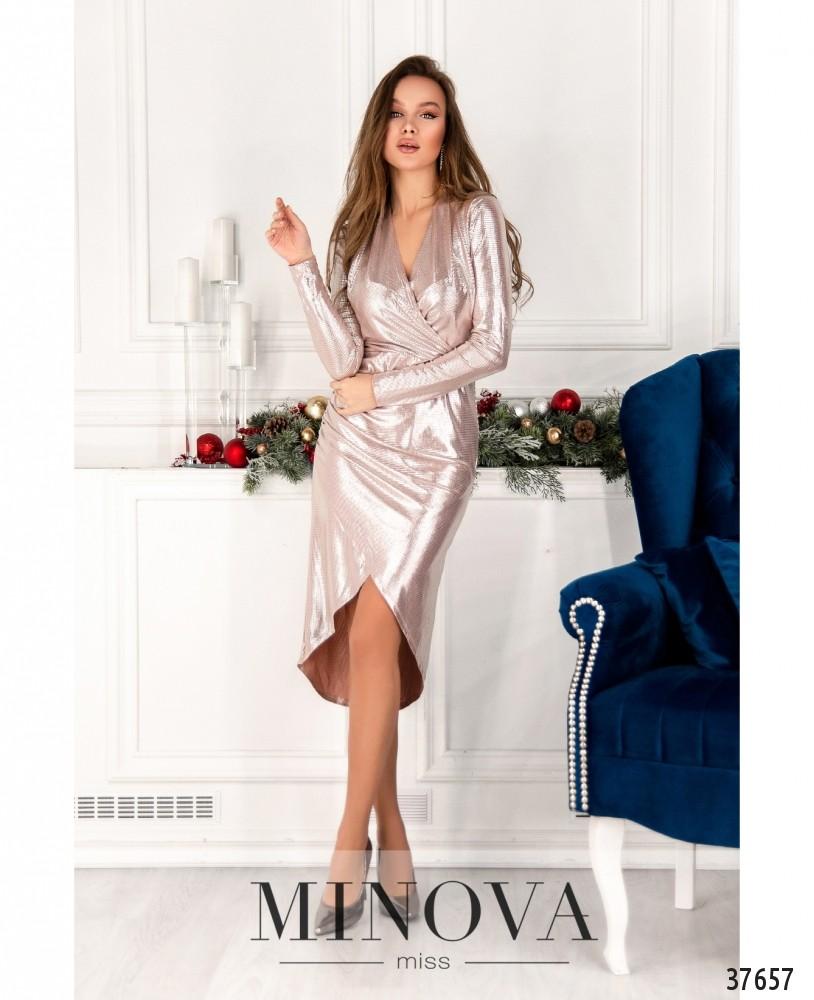 Платье №2158-пудра