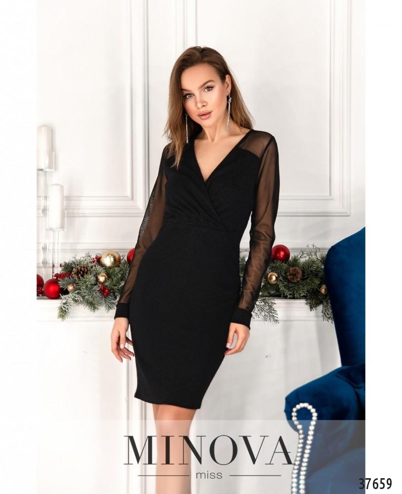 Платье №2157-черный
