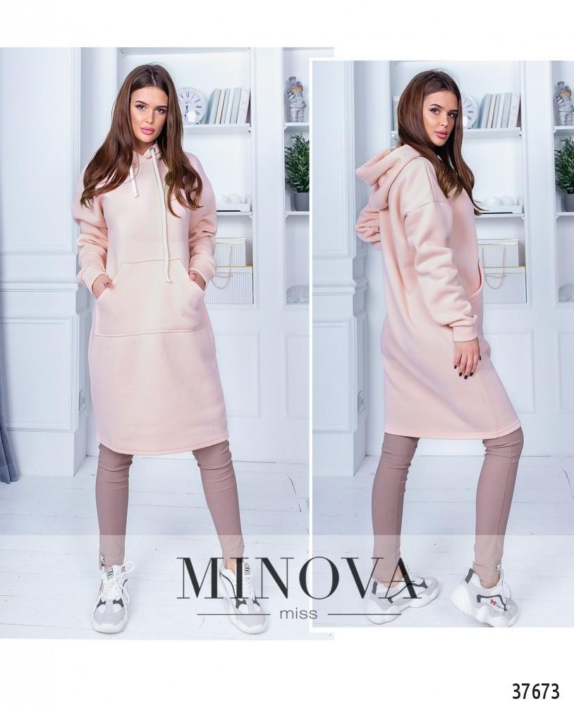 Платье №1405Н-пудра-М