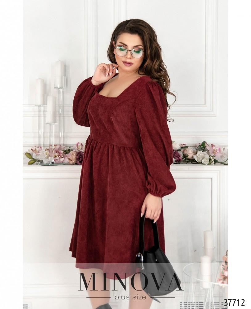 Платье №752-винный