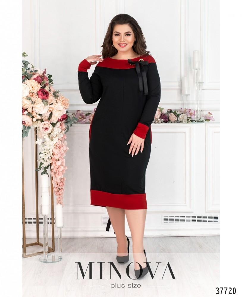 Платье №192-черный