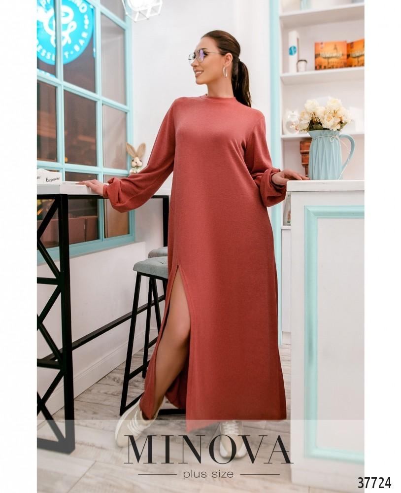 Платье №5221.28-терракот