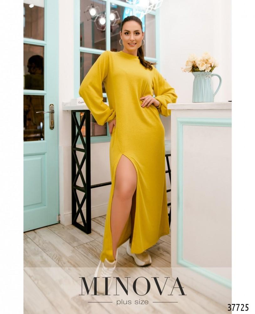 Платье №5221.28-жёлтый