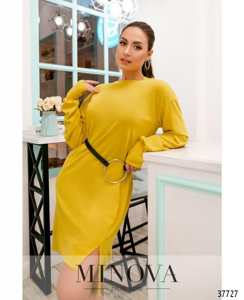 Платье №5220.27-жёлтый