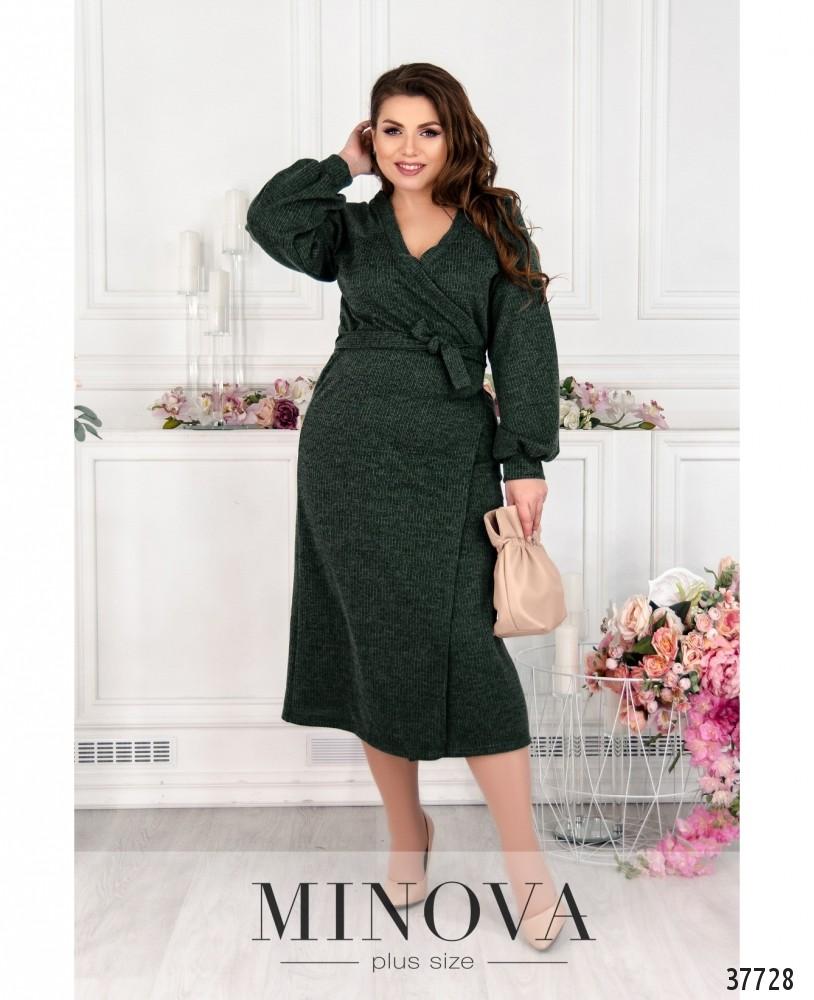 Платье №5219.26-зелёный