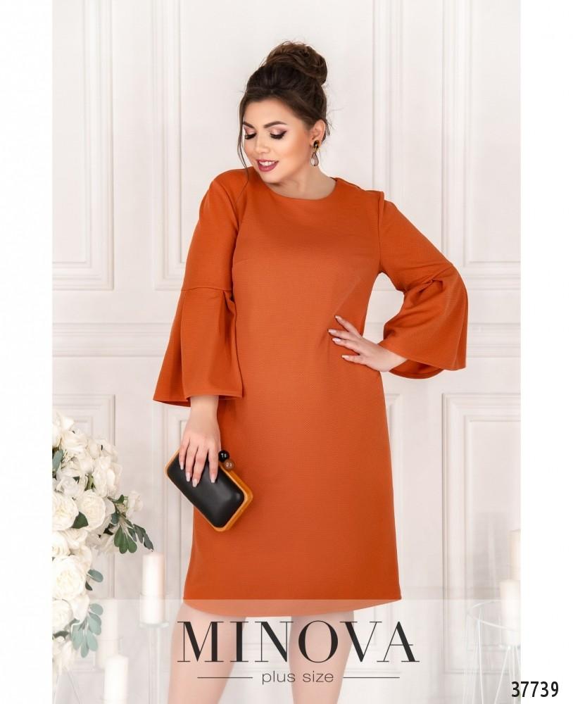 Платье №18951-1-кирпичный