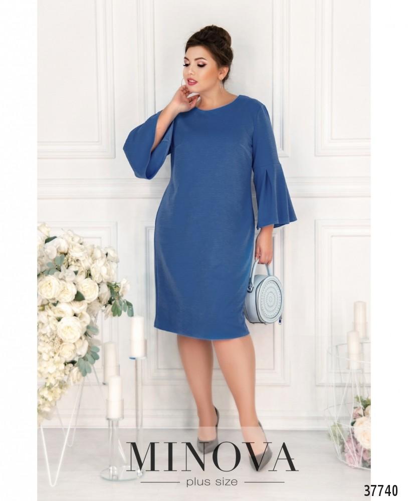 Платье №18951-1-джинс