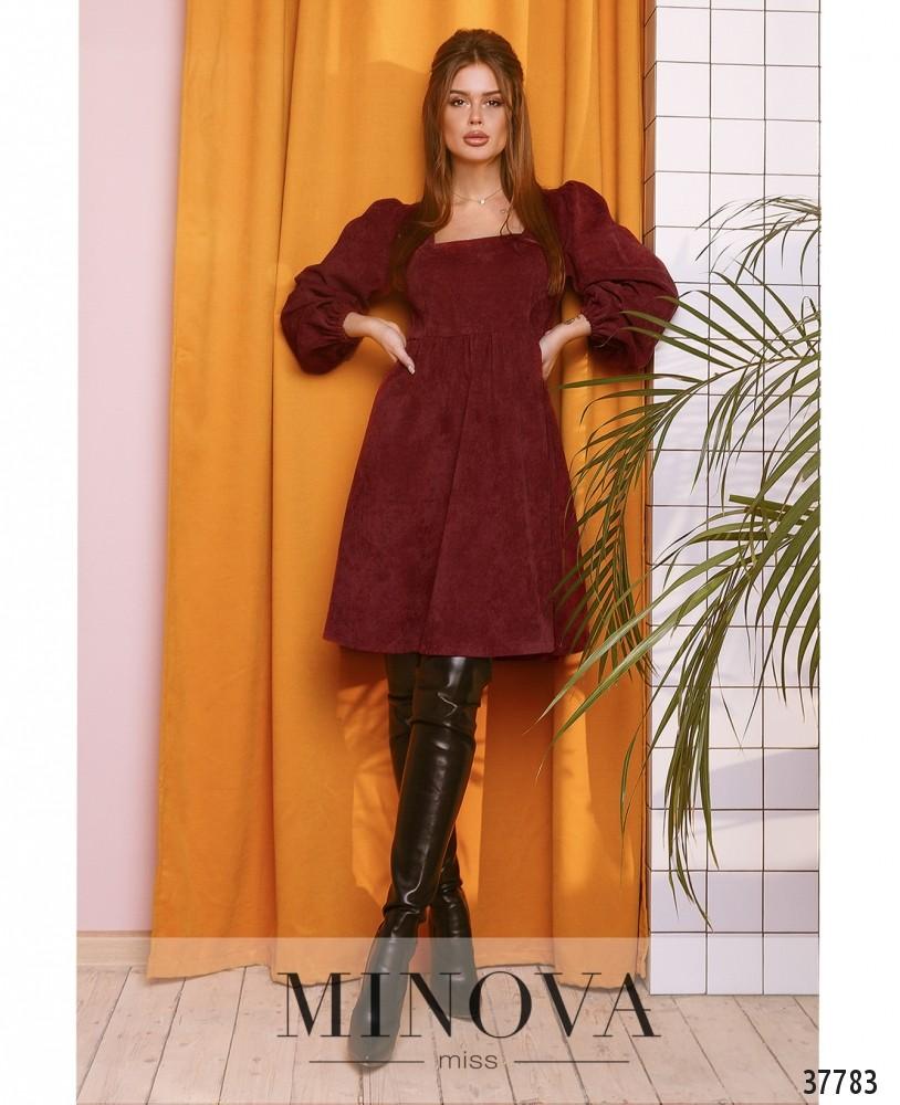 Платье №752Н-винный