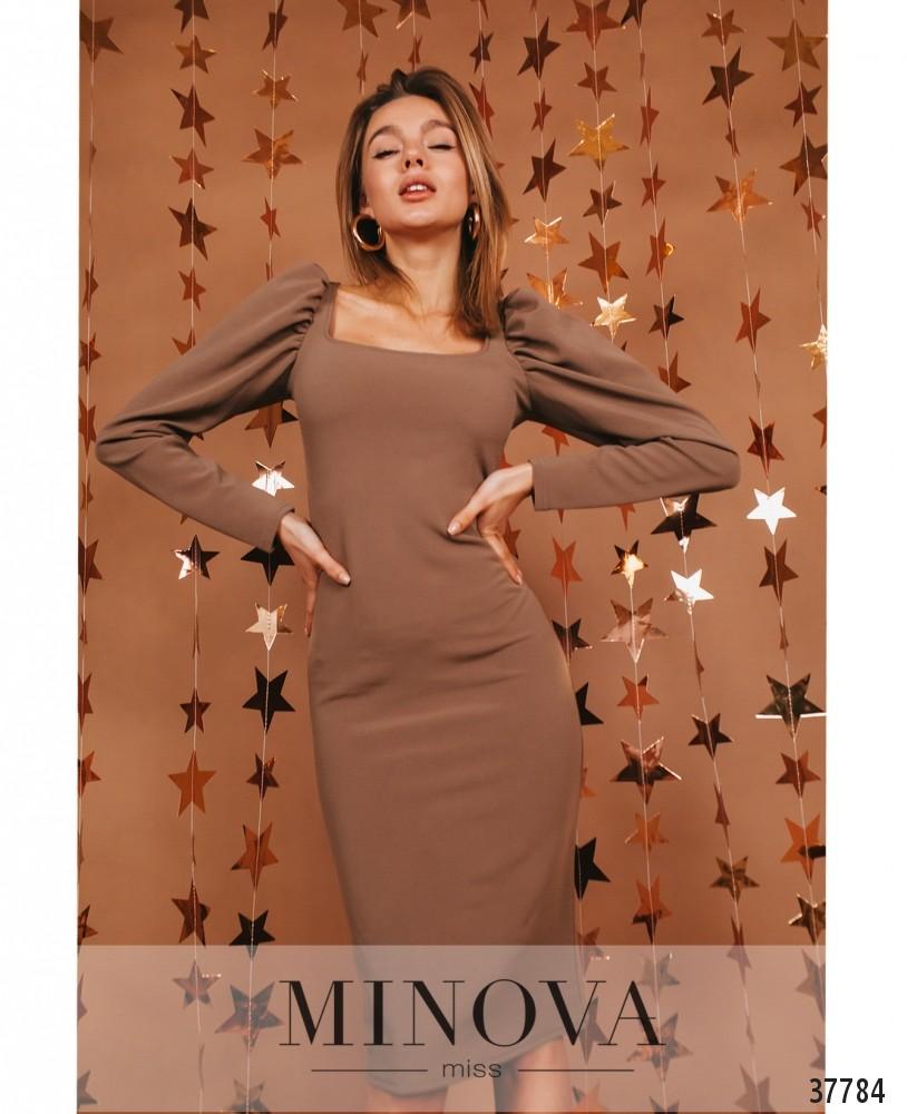 Платье №1476-Мокко