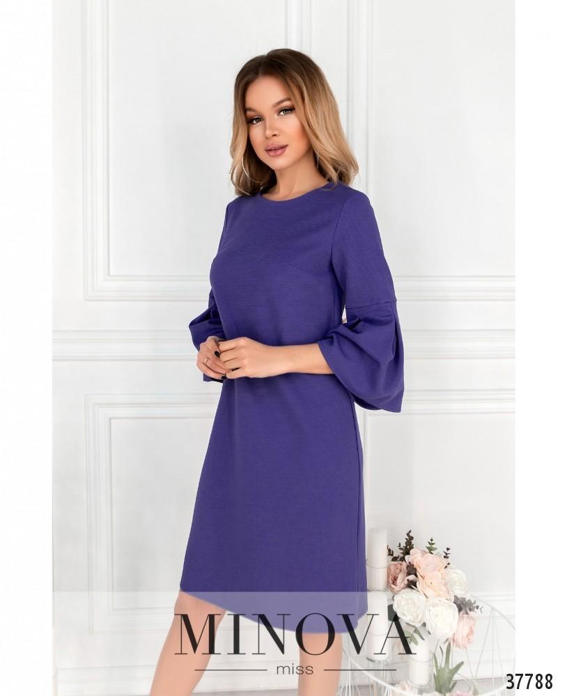Платье №18951-фиолетовый