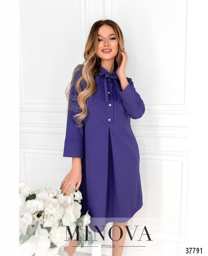 Платье №15861-фиолетовый