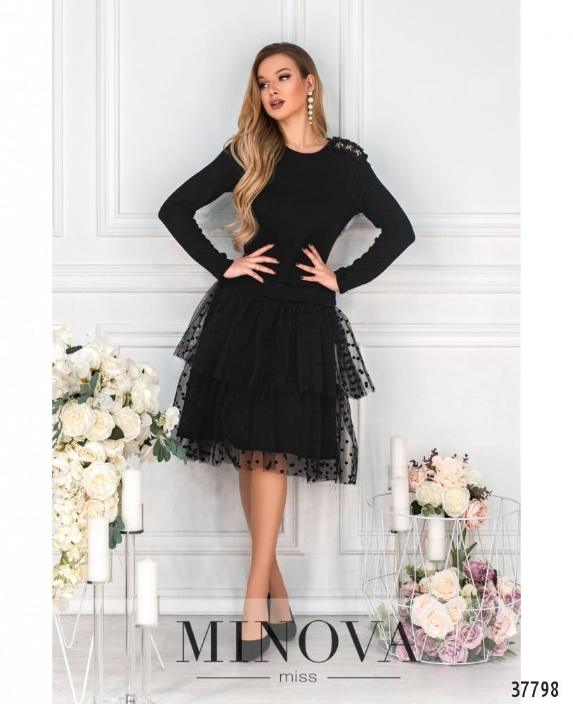 Платье №5228.21-чёрный