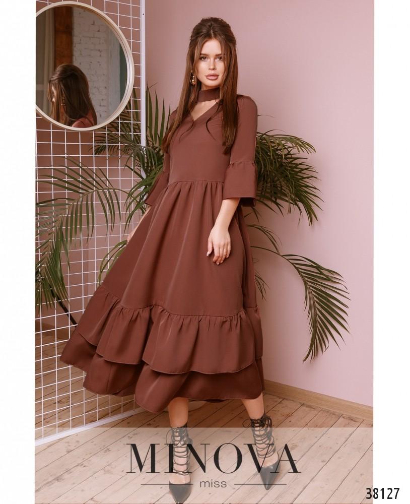 Платье №748-бисквитный (н)