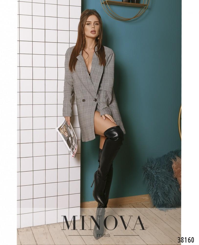 Пиджак №751-серый (н)