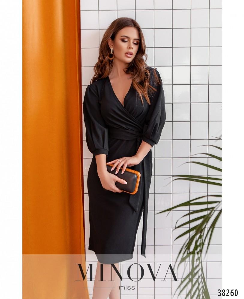 Платье №3138-черный (н)