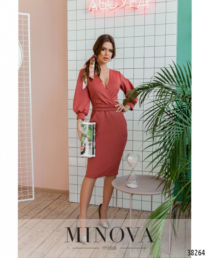 Платье №510-розовый (н)