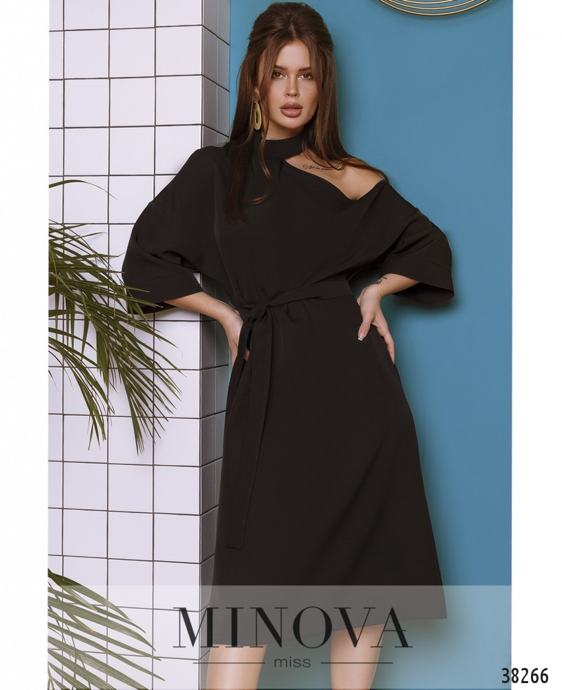 Платье №759-черный (н)