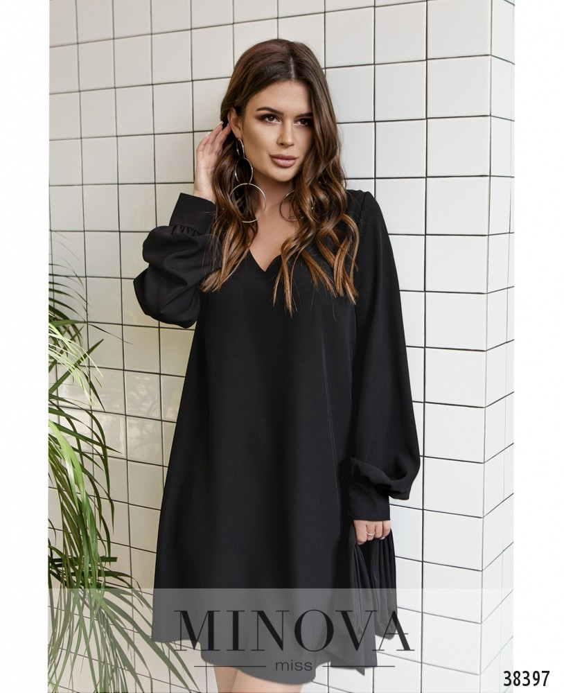 Платье №3139-черный (н)