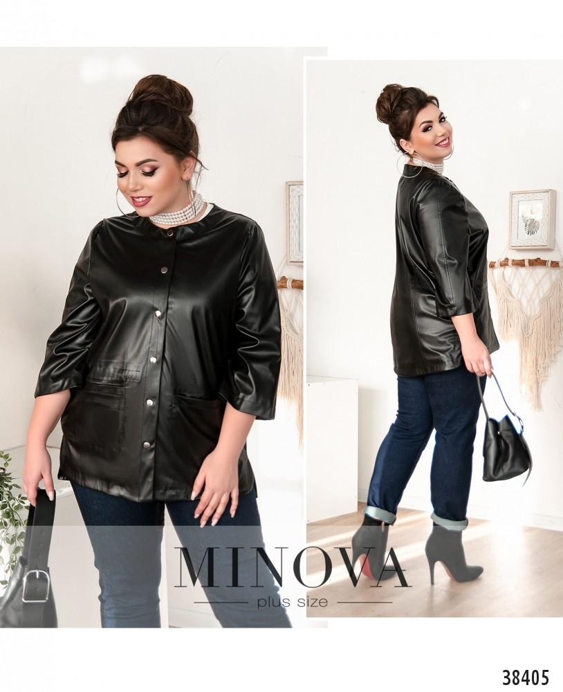 Куртка №770-чёрный-М