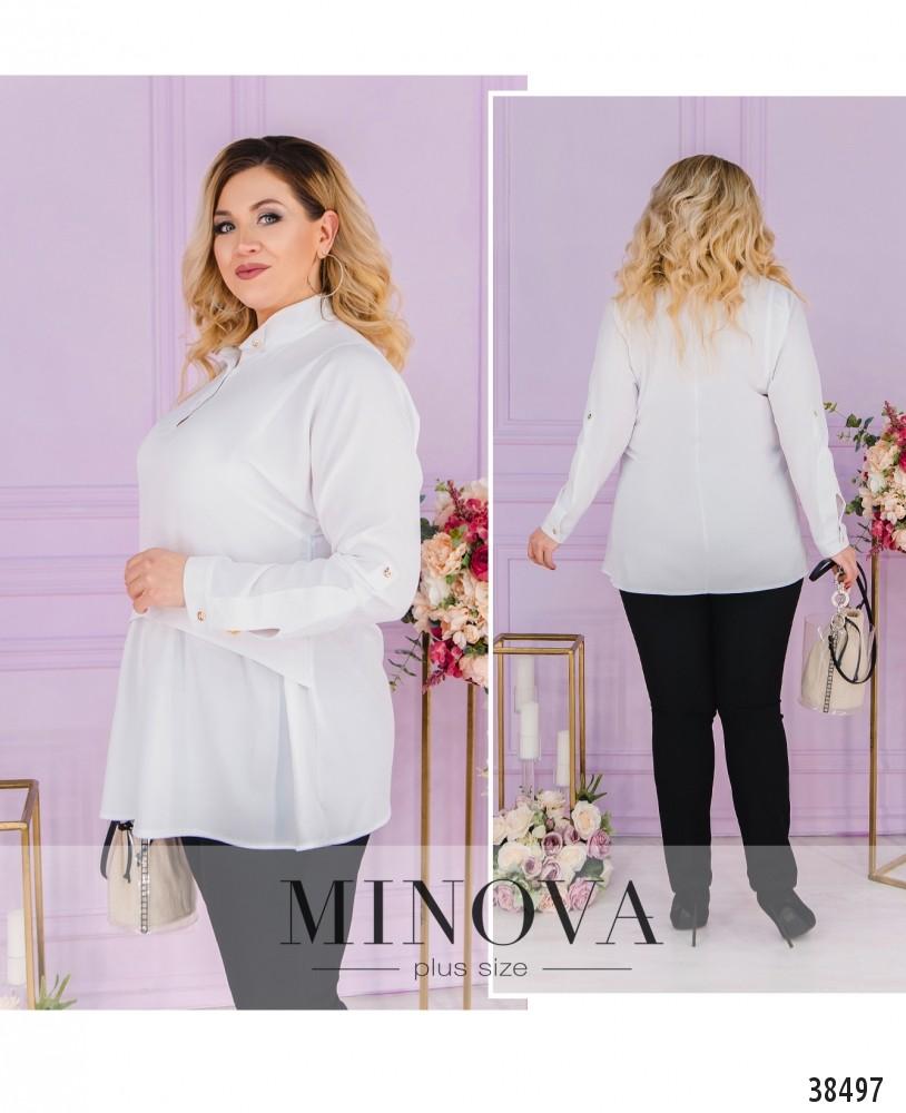 Рубашка №3323-белый-М