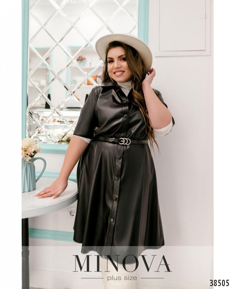 Платье №783-чёрный