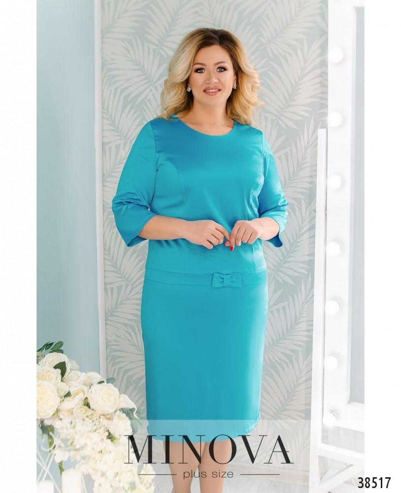 Платье №41581-1-бирюза