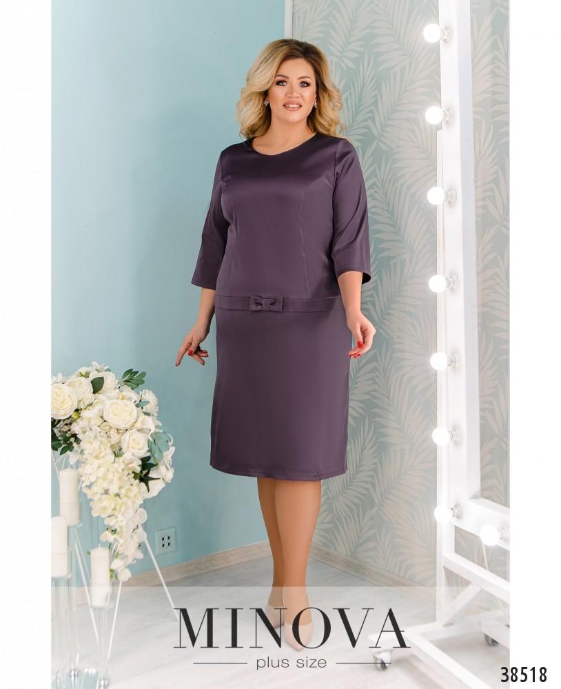 Платье №41581-1-фиолетовый