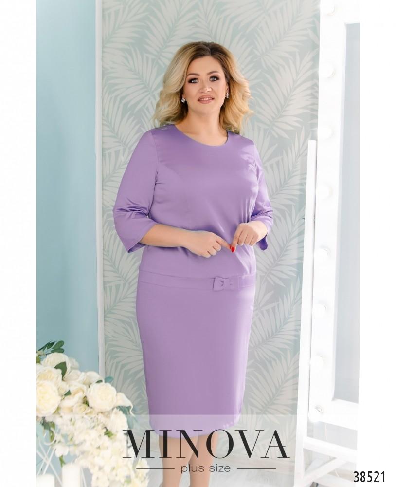 Платье №41581-1-сиреневый