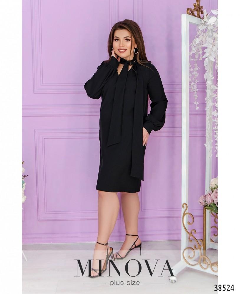Платье №3139-В-черный