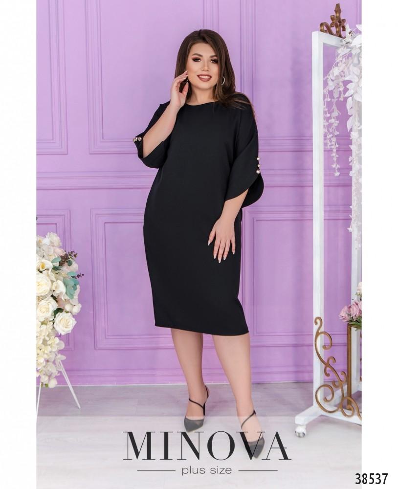 Платье №244Б-чёрный