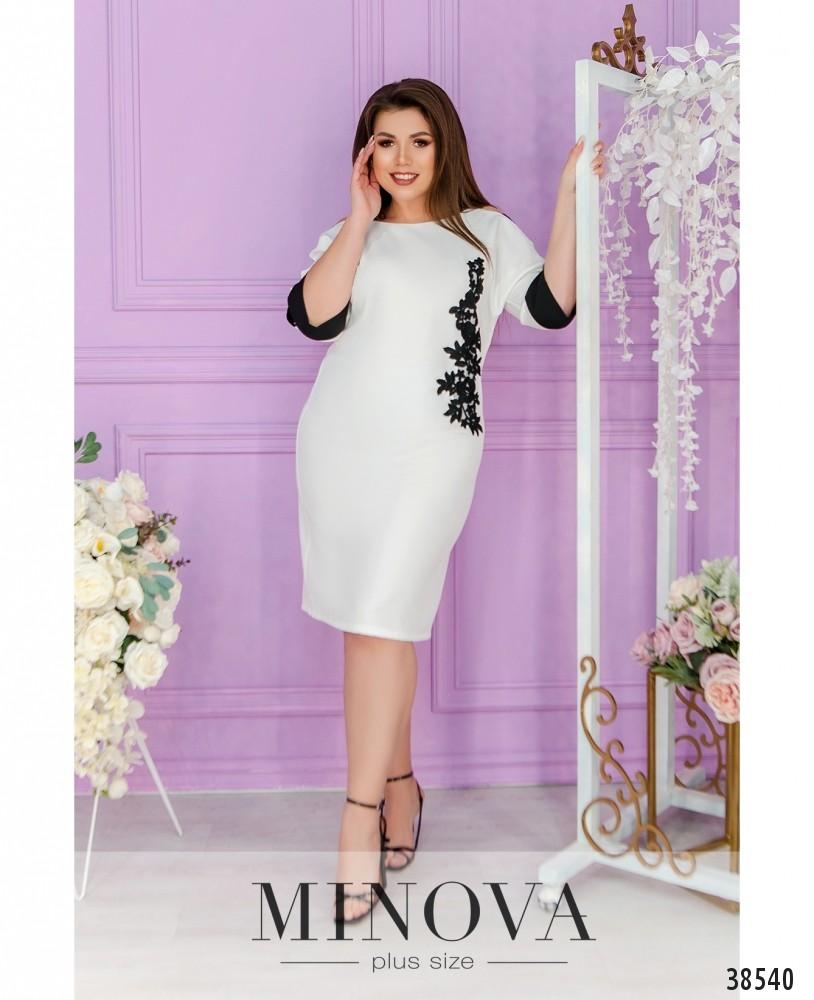 Платье №245-белый