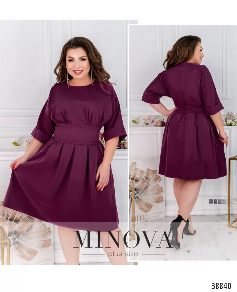Платье №20-07Б-фуксия-М