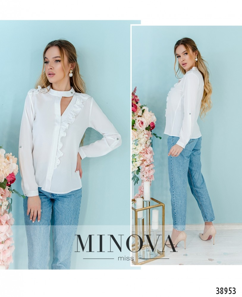 Рубашка №164-2Н-белый-М
