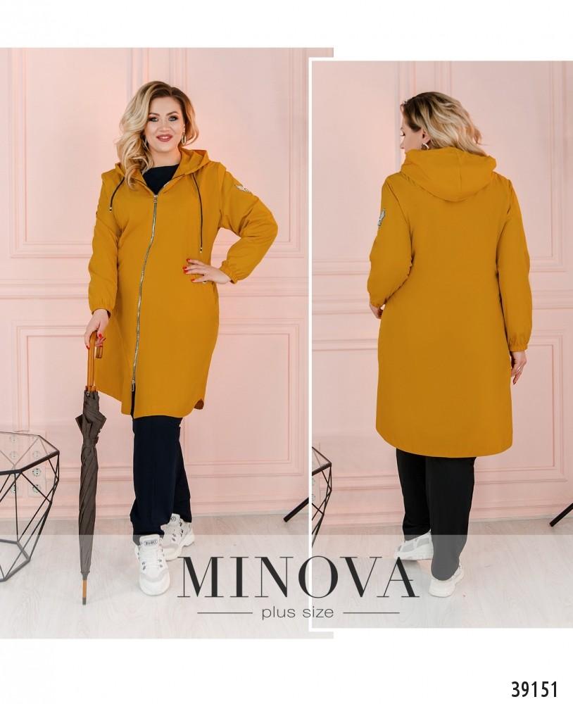 Куртка №3322-горчица-М