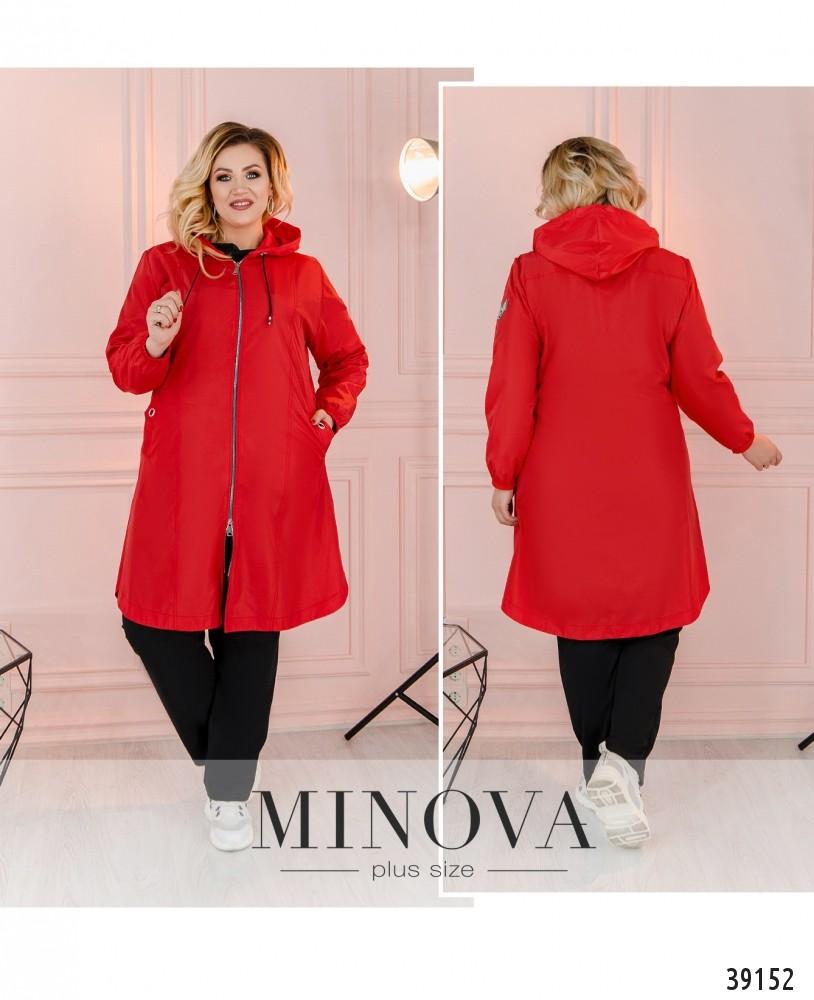 Куртка №3322-красный-М