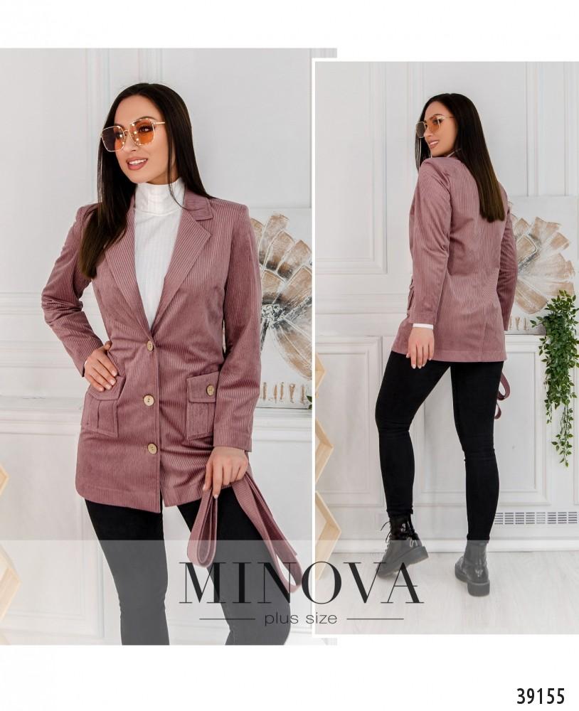 Пиджак №495-фрезовый-М