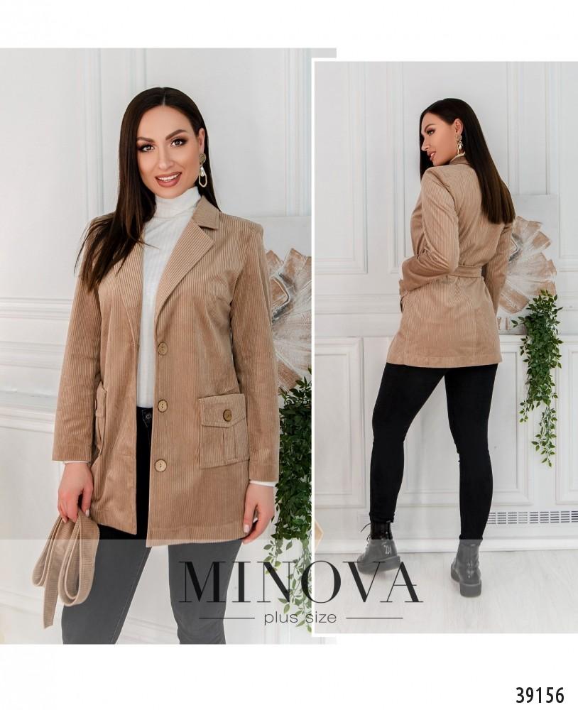 Пиджак №495-бежевый-М