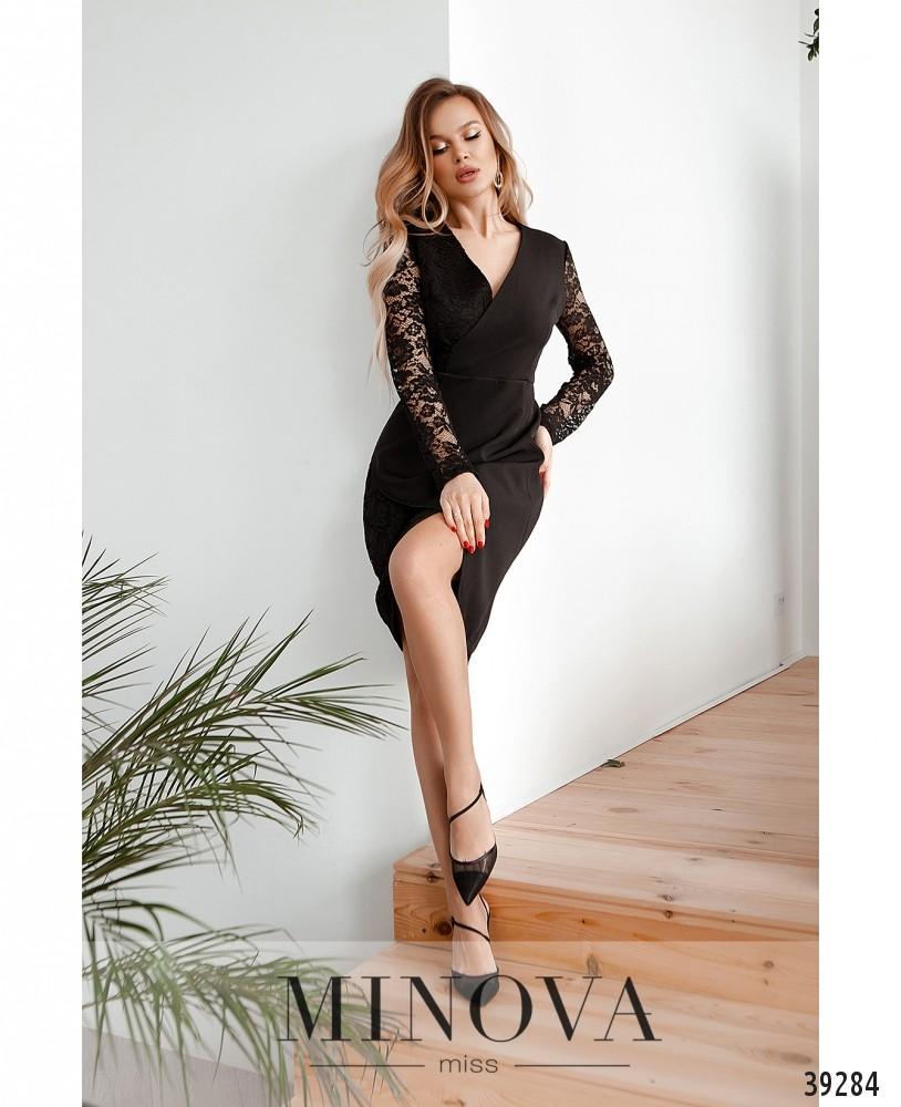 Платье №4124Н-чёрный (н)