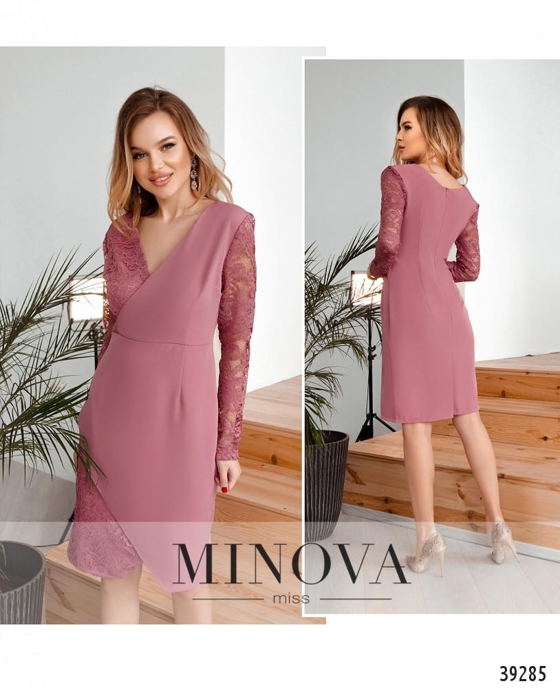 Платье №4124Н-фреза-М
